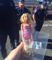 Barbie looking worried