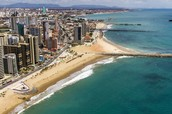 Fortaleza  is the capital of the brazilian state of ceara',Its know for its beaches