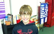 """Fifth Grade, January """"Panther of the Month"""""""