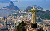 מבט מעל העיר ריו דה ז'נרו