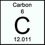 Carbon's atomic number