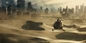 scene from Scorch Trials movie