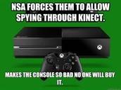 Spying through Xbox?