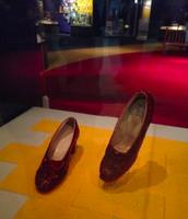 Yo vi los zapatos de Dorothy.