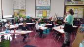 1st Grade:  Staring Center Activities!