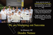 Celebrate your Sarcoma Warrior!