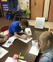 Writing Station Following Guided Reading Station