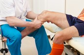Physical therapy on the ACL.
