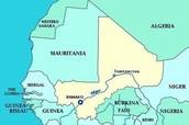 Area of Mali