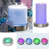 Color-Changing Candle Base