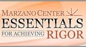 Marzano's Essentials of Rigor Series @ Region 20 ESC