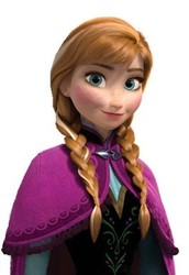 Meet the Main Character:  Princess Anna