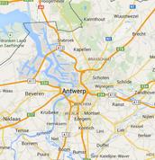 Antwerp map