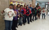 Ugly Sweater Contestants!