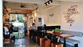A cafe in Tiong Bahru