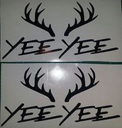 Stickers for your car/trucks & license plates!