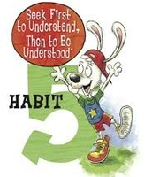 Habit 5 — Seek First to Understand, Then to Be Understood