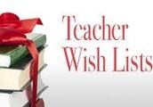 TEACHER WISH LIST!