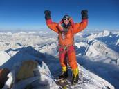 Look at Bob having fun on Mount Everest!
