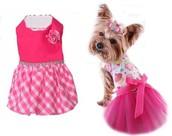 Vestidos para perros y gatos