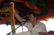 Muthappa Rai in Jaya Karnataka Meeting