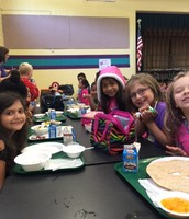 Students at lunch