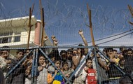 Asylum seekers in detention centres