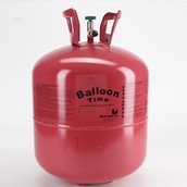 Helium in its tank