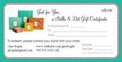 Three $50 Gift Certificates!