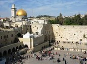 Jerusalem is  holy to all 3  religions: Judaism , Christianity and Islam