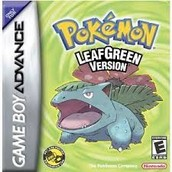Pokemon leaf green game slot 20% off
