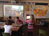 Mrs. Hunt's Class Mystery Skype