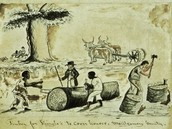 Slaves at work