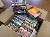DVD's ready to ship to KidFlicks!