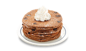 come try out our new pancakes it will fill your mouth up with joy