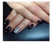 Acrylic nails met of zonder gelpolish