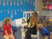 Thank you to our Mystery Reader....