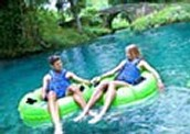 tubing in rainforest