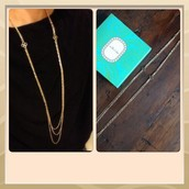 Libby Layering Necklace Gold