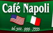 Support our school by buying lunch or dinner at Cafe Napoli on Monday, Sept. 22.