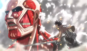 Eren and Colossal Titan