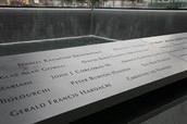 All of the names on the memorial