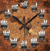 Free Make and Take Sign Language Clock