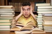 Studying Overwhelmed