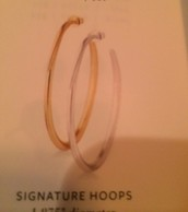 Signature Hoops - GOLD only