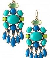 Aviva blue earring$ 28