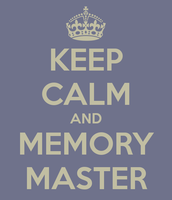 Coming Up Friday 2/26: Memory Master Drill Session