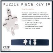 New puzzle piece key :-)