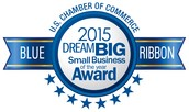 2015 BLUE RIBBON AWARD FOR SMALL BUSINESS