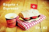 Coffee & Fresh Sandwich
